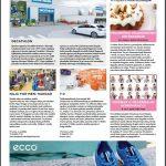 BTC City Vodnik - primer oglasne pasice Ecco