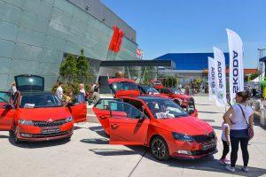 Predstavitev novih modelov Škoda / Skoda exhibitoin event
