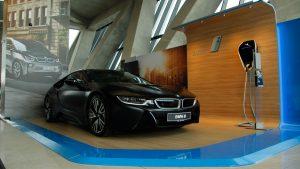 BMW razstavni prostor