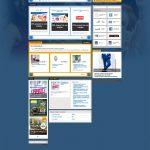 Spletna stran BTC City / BTC City webpage