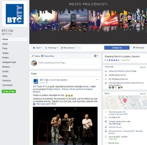 Facebook BTC City