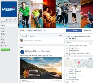Facebook ŠC Millenium BTC