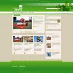Spletna stran Mizija: Zeleno / Mission: Green webpage
