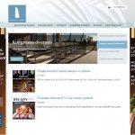 Spletna stran Kristalna palača / Crystal Palace webapge